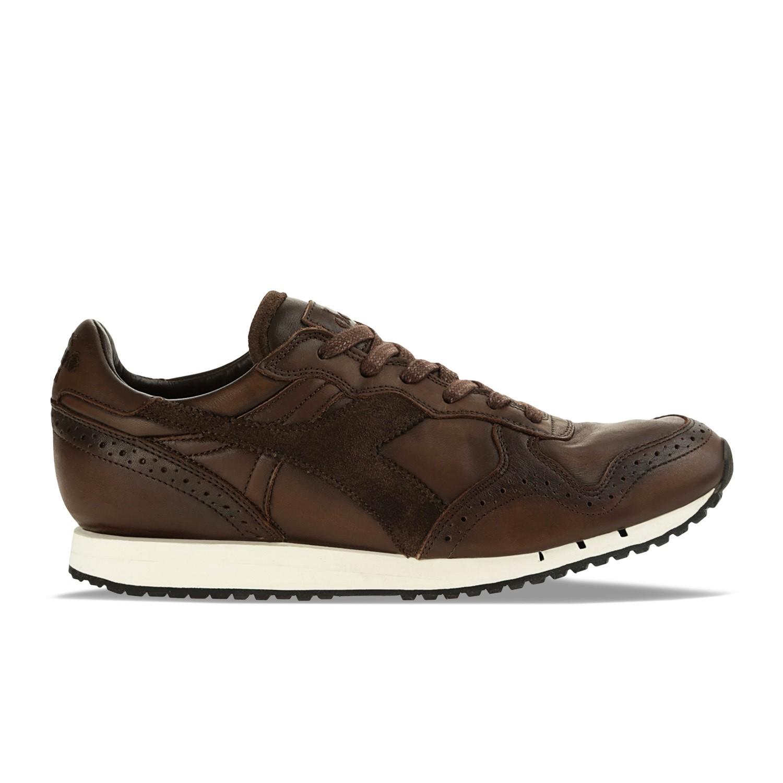 sneaker uomo DIADORA HERITAGE TRIDENT BROGUE scarpa marrone
