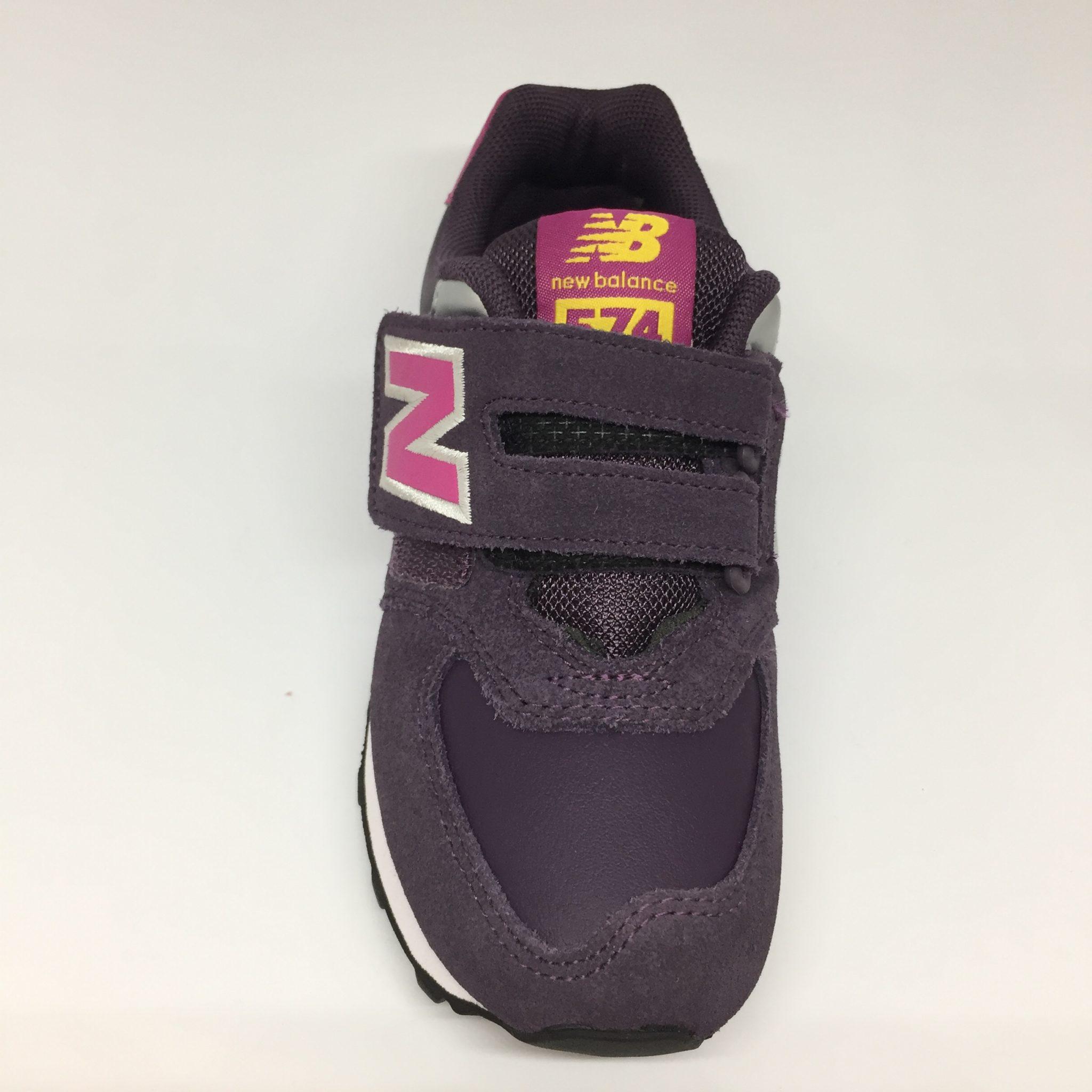 8e87d25e6e0f New Balance KV574PPY Viola fuxia – La Griffe calzature