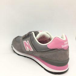 91ae6fcb0ff5c Saucony Jazz sneakers da bimbo primi passi. Colorazione grigio-rosa