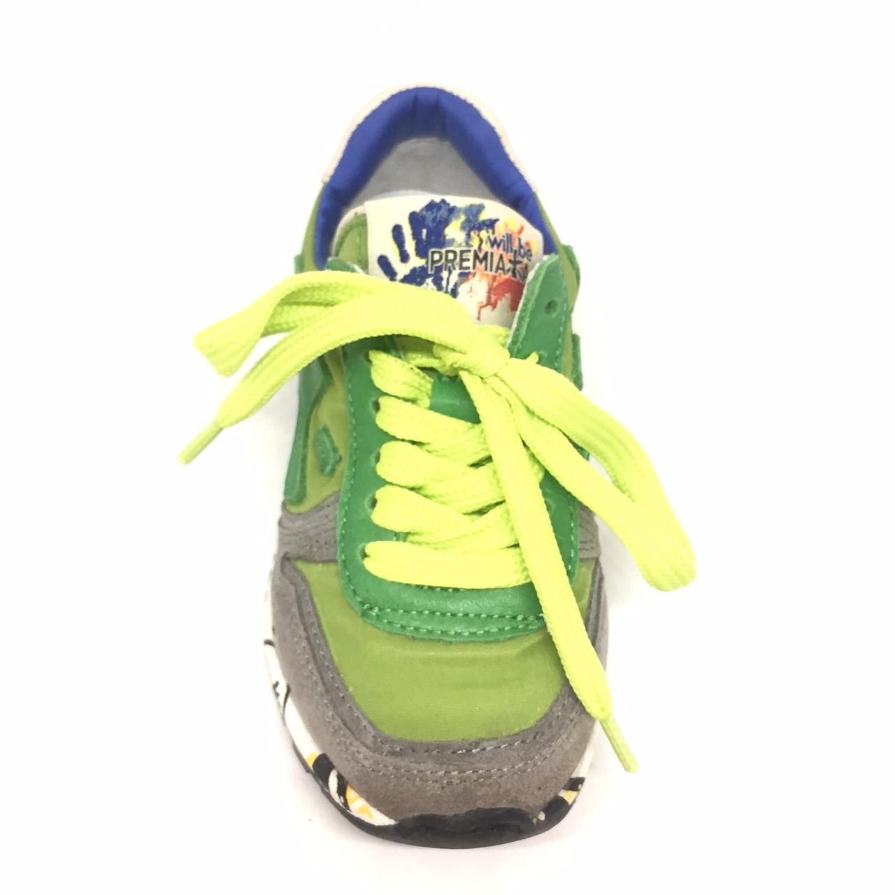 315e1af0afe5c Premiata Will be mod. Mick verde – La Griffe calzature