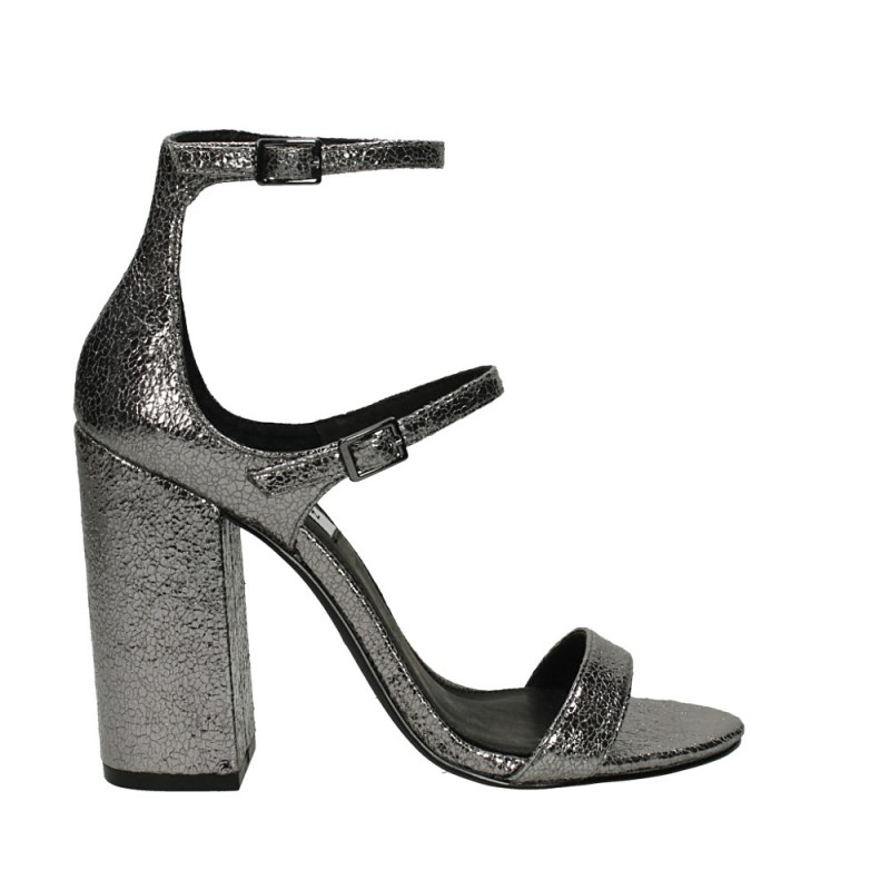 Steve Madden Parrson Pewter metallic – La Griffe calzature a60e79f15ed