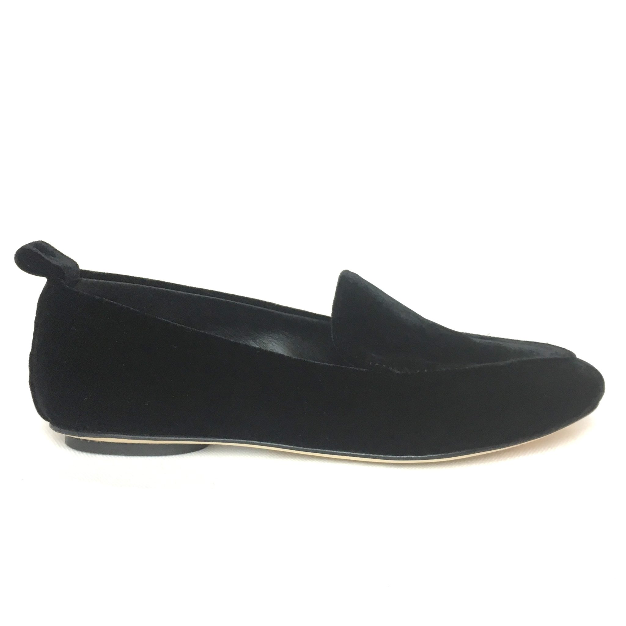 f30bfdec30790 By A. mod. 7196 loafers pantofola velluto nero – La Griffe calzature