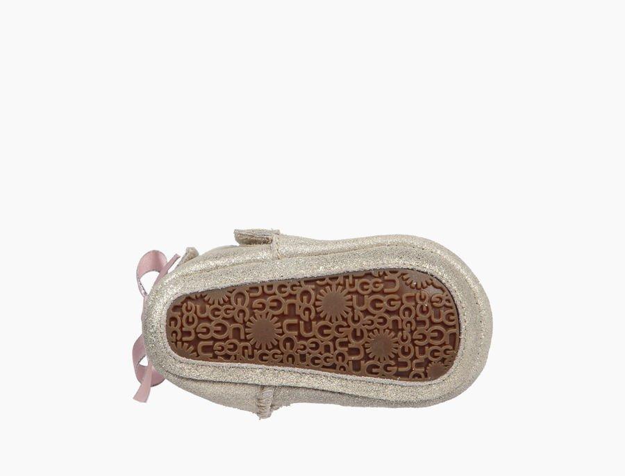 b33e220122739 UGG culla mod. Jesse bow metallic argento rosa – La Griffe calzature