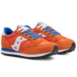 Sneakers Con Saucony Bimbo Jazz Arancio Stringa Blu Da Colorazione B5azwqaT