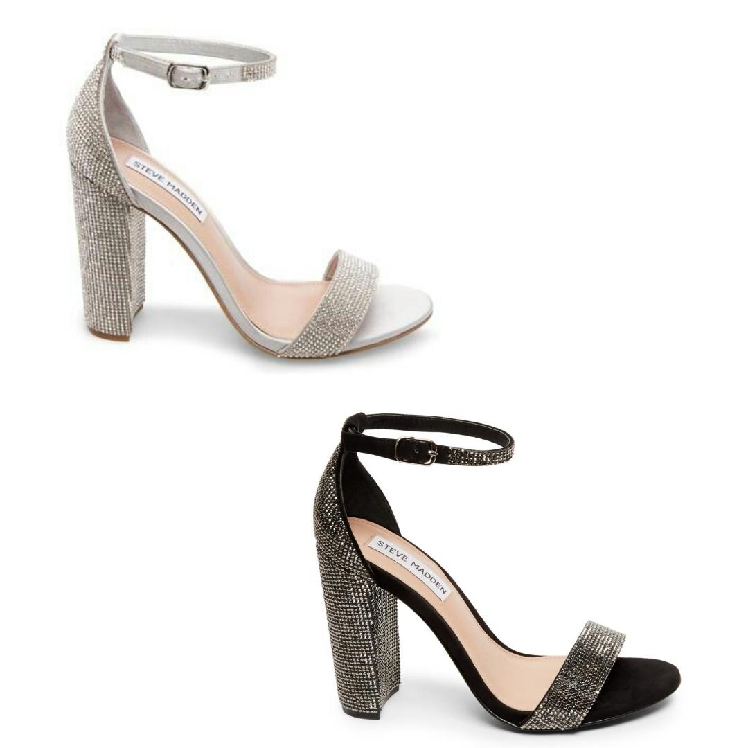 5a8868fd61bf Steve Madden Carrson Crystal black-silver – La Griffe calzature